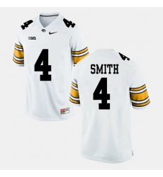 Men Tevaun Smith White Iowa Hawkeyes Alumni Football Game Jersey
