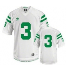 Men 3 Authentic White Jersey