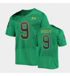 Men Notre Dame Fighting Irish Kyle Rudolph College Football Green Replica Jersey