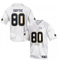 Men Under Armour 80 Limited White Durham Smythe Notre Dame Fighting Irish Alumni Football Jersey