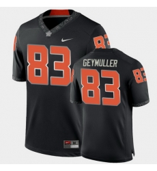 Men Oklahoma State Cowboys Gordie Geymuller College Football Black Game Jersey