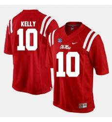 Chad Kelly Red Ole Miss Rebels Alumni Football Game Jersey