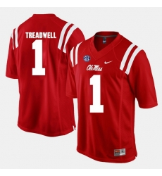 Laquon Treadwell Red Ole Miss Rebels Alumni Football Game Jersey