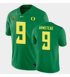 Men Oregon Ducks Arik Armstead College Football Green Game Jersey