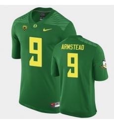 Men Oregon Ducks Arik Armstead Replica Green Game Football Jersey