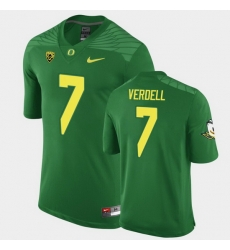 Men Oregon Ducks Cj Verdell Replica Green Game Football Jersey