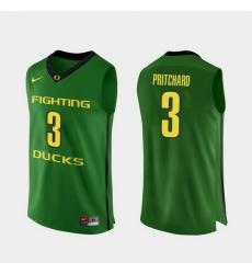 Men Oregon Ducks Payton Pritchard Apple Green Authentic College Basketball Jersey