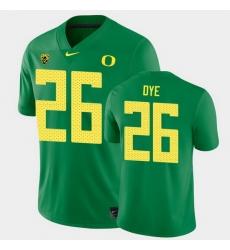 Men Oregon Ducks Travis Dye College Football Green Game Jersey