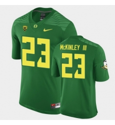 Men Oregon Ducks Verone Mckinley Iii Replica Green Game Football Jersey