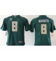 NCAA Oregon Ducks #8 Mariota Dark green jerseys