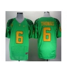 Ncaa Oregon Ducks De Anthony Thomas #6 Green College Football Jerseys