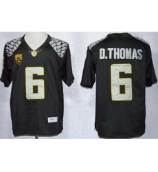 Oregon Duck 6 De'Anthony Thomas Black Limited NCAA Jerseys