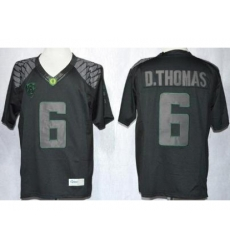 Oregon Duck 6 De'Anthony Thomas Blackout Limited NCAA Jerseys