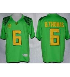 Oregon Duck 6 De'Anthony Thomas Green Limited NCAA Jerseys