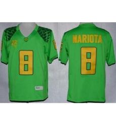 Oregon Duck 8 Marcus Mariota Green Limited NCAA Jerseys