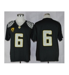Oregon Ducks #6 Charles Nelson Black Limited Stitched NCAA Jersey