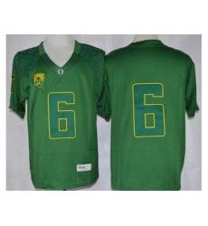 Oregon Ducks #6 Charles Nelson Dark Green Limited Stitched NCAA Jersey