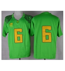 Oregon Ducks #6 Charles Nelson Green Limited Stitched NCAA Jersey