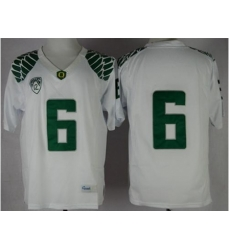 Oregon Ducks #6 Charles Nelson White Limited Stitched NCAA Jersey