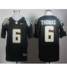 Oregon Ducks 6 De'Anthony Thomas Black Elite Pac-12 2012 NCAA Jersey