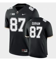 Men Purdue Boilermakers Payne Durham College Football Game Black Jersey