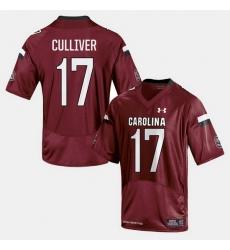 Men South Carolina Gamecocks Chris Culliver College Football Cardinal Jersey