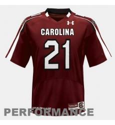 Men South Carolina Gamecocks Marcus Lattimore College Football Red Jersey