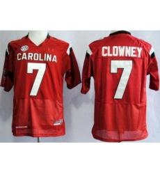 South Carolina Gamecocks 7 Jadeveon Clowney Red College Football NCAA Jersey