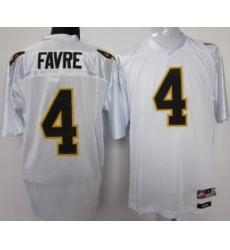 Southern Mississippi Gold Eagles #4 Brett Favre White NCAA Jerseys