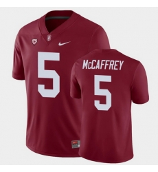 Men Stanford Cardinal Christian Mccaffrey College Football Cardinal Game Jersey