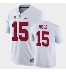 Men Stanford Cardinal Davis Mills Game White College Football Jersey
