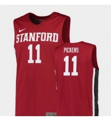 Men Stanford Cardinal Dorian Pickens Red Replica College Basketball Jersey