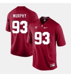 Men Stanford Cardinal Trent Murphy College Football Cardinal Jersey