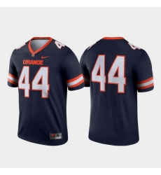 Men Syracuse Orange 44 Navy Legend College Football Jersey