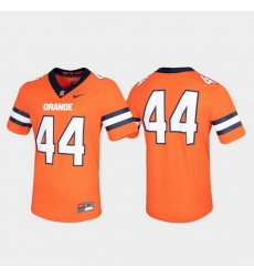 Men Syracuse Orange 44 Orange Untouchable Game Jersey