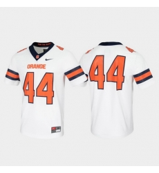 Men Syracuse Orange 44 White Untouchable Game Jersey
