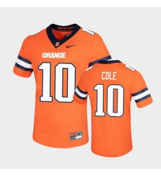 Men Syracuse Orange Adrian Cole Untouchable Game Orange Jersey