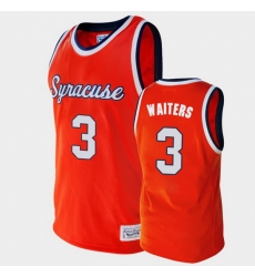 Men Syracuse Orange Dion Waiters Alumni Orange College Basketball Jersey