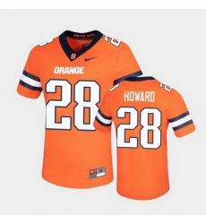 Men Syracuse Orange Jarveon Howard Untouchable Game Orange Jersey