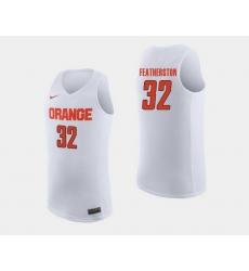 Men Syracuse Orange Ray Featherston White College Basketball Jersey