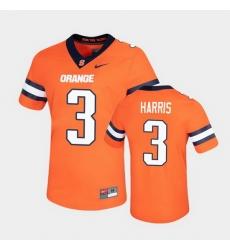 Men Syracuse Orange Taj Harris Untouchable Game Orange Jersey