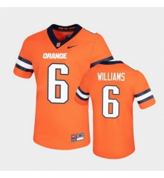 Men Syracuse Orange Trill Williams Untouchable Game Orange Jersey