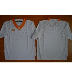 Tennessee Vols Blank White Stitched NCAA Jersey