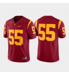 Men Usc Trojans 55 Cardinal Game College Football Jersey