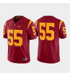 Men Usc Trojans 55 Cardinal Limited College Football Jersey