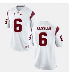 Men Usc Trojans Cody Kessler Pac 12 Game White Jersey