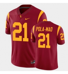 Men Usc Trojans Isaiah Pola Mao College Football Cardinal Alumni Player Game Jersey