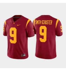 Men Usc Trojans Juju Smith Schuster 9 Cardinal Game Alumni Player Jersey