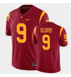 Men Usc Trojans Kedon Slovis College Football Cardinal Alumni Player Game Jersey
