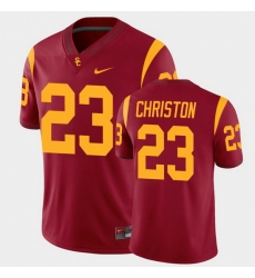 Men Usc Trojans Kenan Christon College Football Cardinal Alumni Player Game Jersey